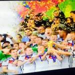 Das DFB-Team feiert