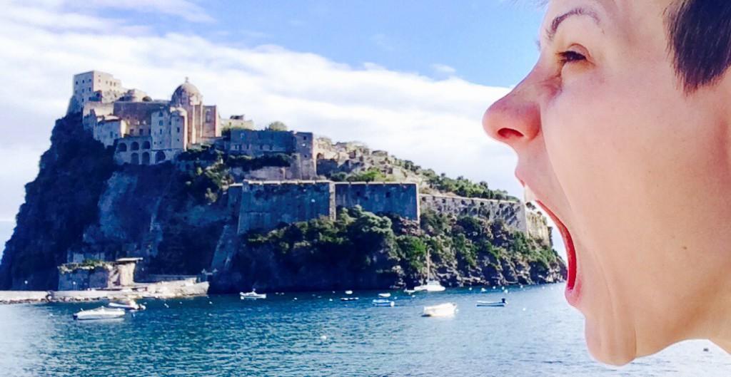 """Ich """"esse"""" die Castello-Insel"""