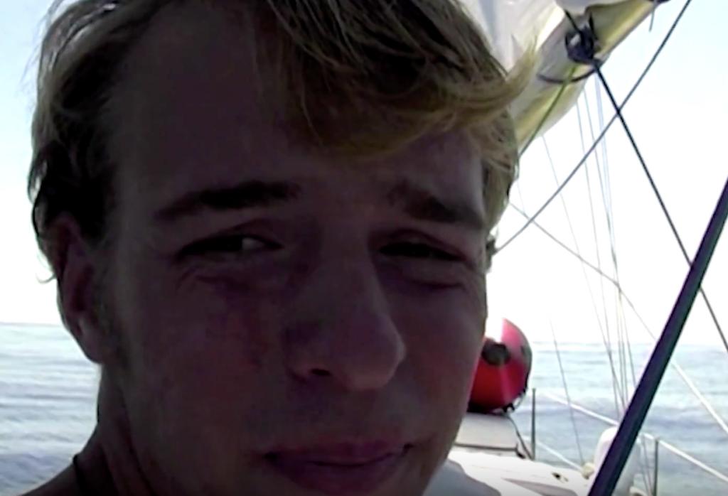 """Filmausschnitt Johannes Erdmann """"Allein auf dem Atlantik"""""""