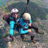 Selfie beim Gleitfliegen - SEAT Ateca - Routine neu erleben